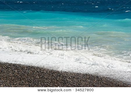Mediterranean Sea In Nice