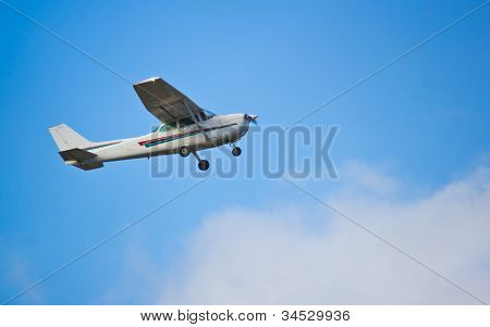 Single Prop Airplane