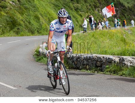 The Cyclist Mickael Delage