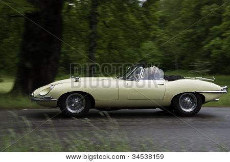 Jaguar E-type From 1968
