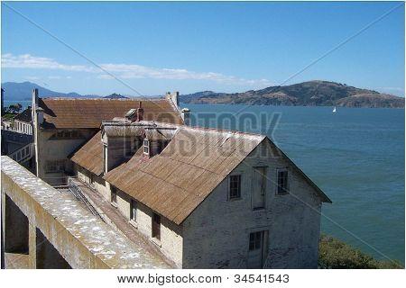Alcatraz Island Guard housing