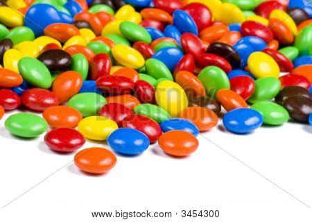 Assortment Of Colorful Chocolate Candies