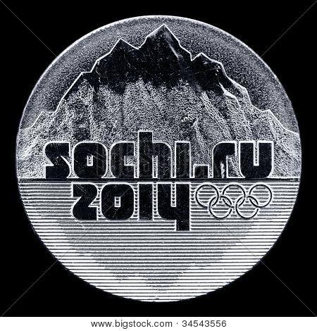 Moneda Ru de Sochi 2014