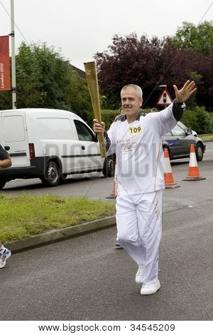 The Olympic torch