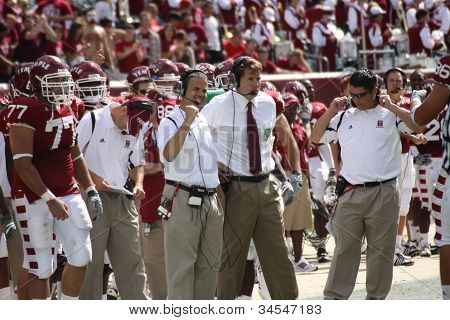 Temple coach Al Golden