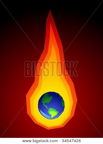 Global Warming Graphic
