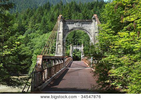 Fraser Canyon, Historic Alexandra Bridge, British Columbia