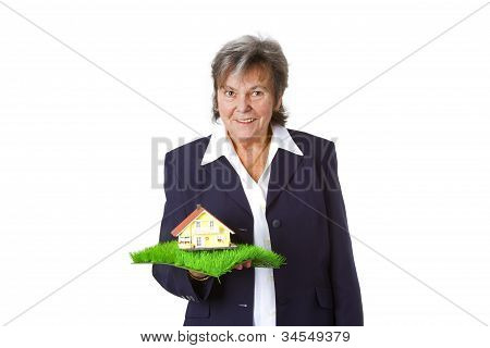 Female Estate Agent