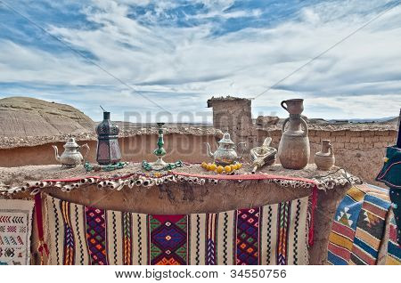 Zouk Of Ait Ben Haddou At Morocco