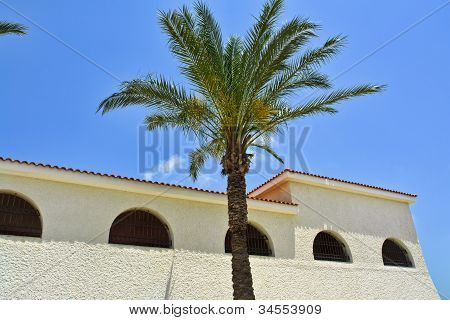 Classical Mediterranean Spanish Style Building