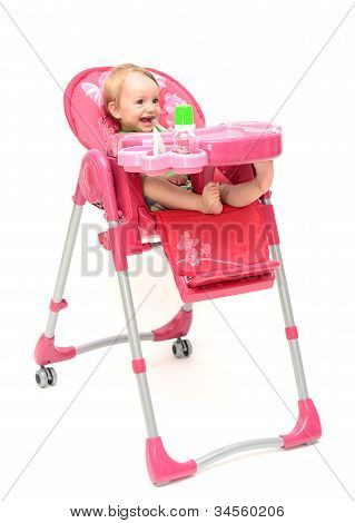 Highchair With Baby