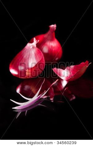 Luxurious Onion Background.