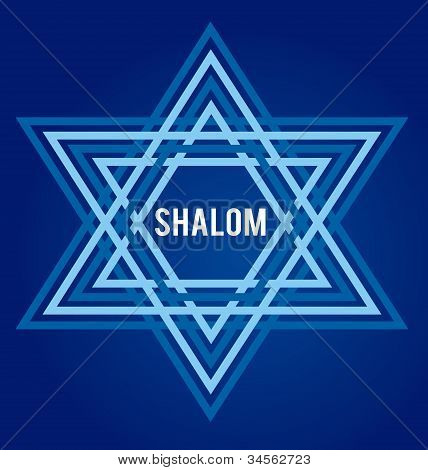 david star as symbol of peace