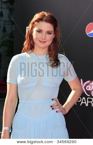 LOS ANGELES - JUN 26: Alexandra Breckenridge at the premiere of Paramount Insurge's 'Katy Perry: Part Of Me' held on June 26, 2012 in Hollywood, Los Angeles, California