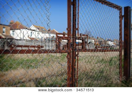 Housing England Fence Social