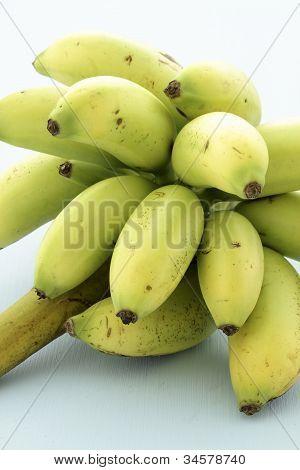 Organic miniature bananas