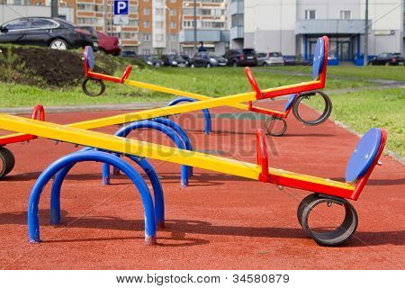 Swing (teeter)