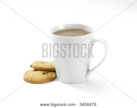 Coffee Mug And Buscuits
