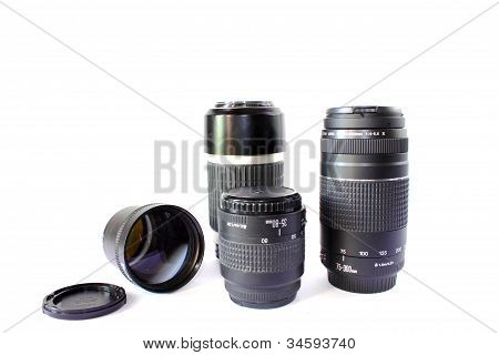 Different Camera Lenses