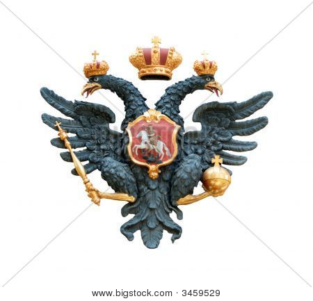 Double Eagle With Scepter And Orb