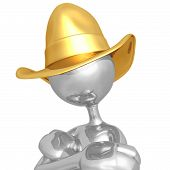 image of buckaroo  - A Concept And Presentation Figure in 3D - JPG