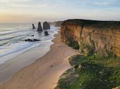 picture of 12 apostles  - the famous twelve apostles in South  - JPG