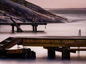 Oslofjord, Krokstrand Beach In Son Near Vestby In The Municipality Of Viken In Norway, Scandinavia, poster