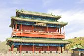 stock photo of qin dynasty  - Monument in the Great Wall of China - JPG
