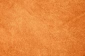 Suede Leather. Genuine Leather Material. Brown Background. Beige Background. Skin Testure. Suede. poster
