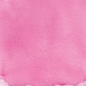 pic of taint  - Pink natural handmade aquarelle painting texture vertical textured watercolor paper macro close up copy space background - JPG
