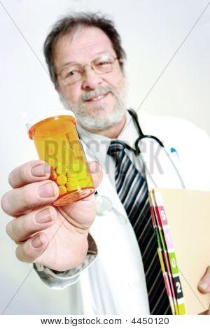 Doctor Offering Pills
