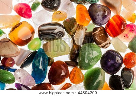 Piedras de gema preciosa semi