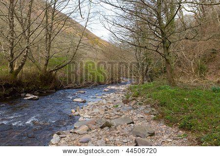 River Heddon Valley Exmoor Devon