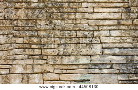 Old Wall From The Brick