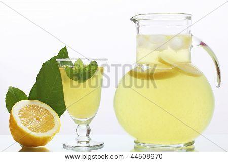 juice lemon in glass jag