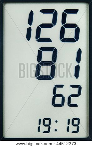 Blutdruck-Messdaten