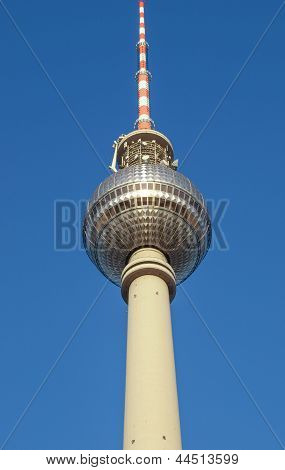 Television Tower in Alexanderplatz, Berlin