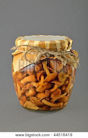 Marinated Mushrooms