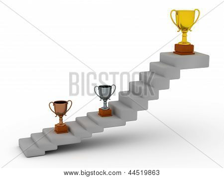 Trophies and Stairs