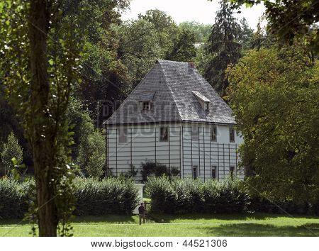 Gartenhaus Of Goethe In Weimar