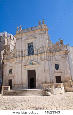 Cathedral of St. Nicola. Castellaneta. Puglia. Italy.