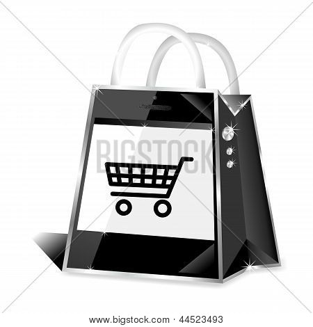 Smartphone-m-Commerce-online-Shop-Symbol
