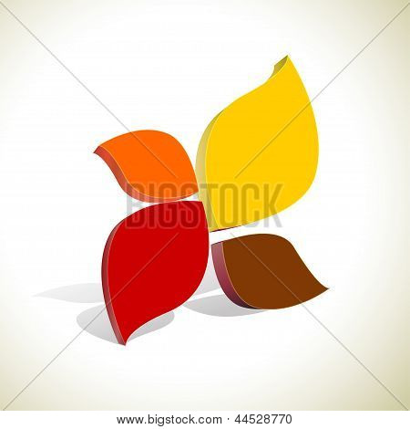 Abstract Colorful  Shape Vector Background