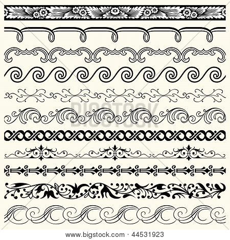 Design horizontal elements