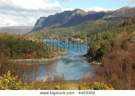 Scotland. Loch Carron.