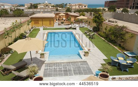 Luxury Villa Swimming Pool In Grounds