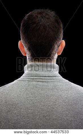 Man Turning His Back