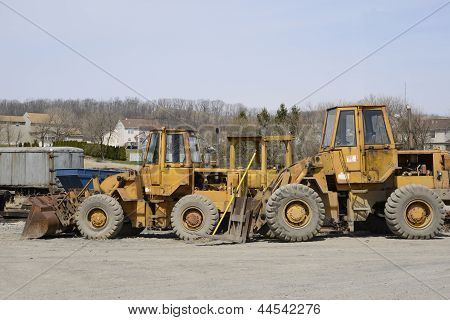 Several Construction Vehicles