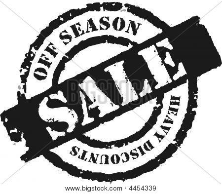 Stamp 'off Season Sale''