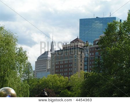 Horizonte de Boston, MA